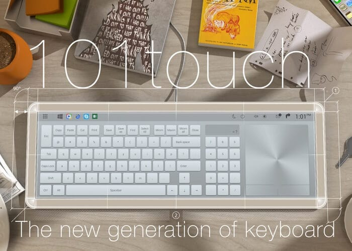 101Touch Keyboard