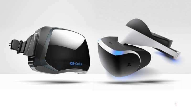 Samsung Gear vr VS Sony Morpheus VS Oculus Rift Crescent Bay