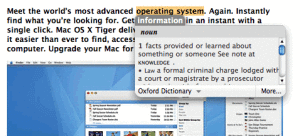 Instant Dictionary OSX