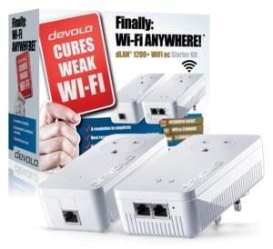 Devolo dLAN 1200+ Wi-Fi AC Powerline Starter Kit