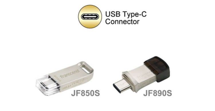 Transcend introduces a new USB Type-C line of products