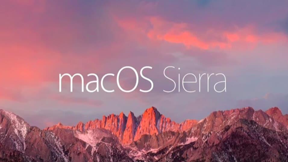 macOS Sierra is released in 5 days