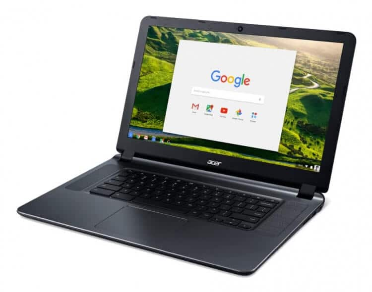 Chromebook 15, battery lasts for up to 12 hours