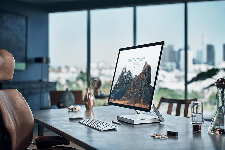 Microsoft Surface Studio, a desktop that can impress.
