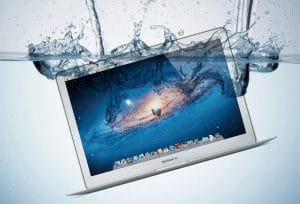 Apple MacBook Liquid Damage