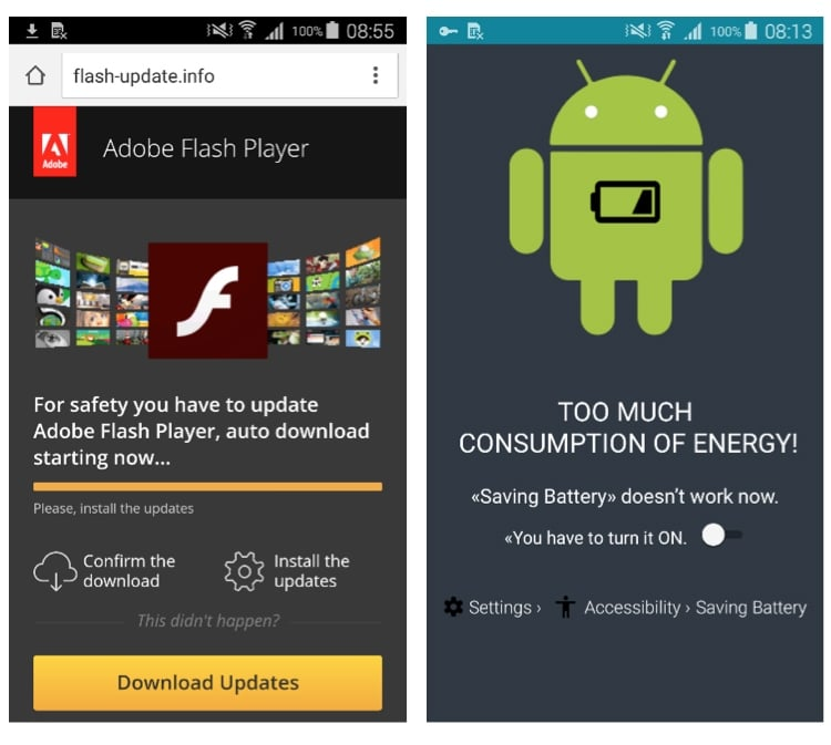 New malware attacks Android devices disguising as Adobe Flash Player