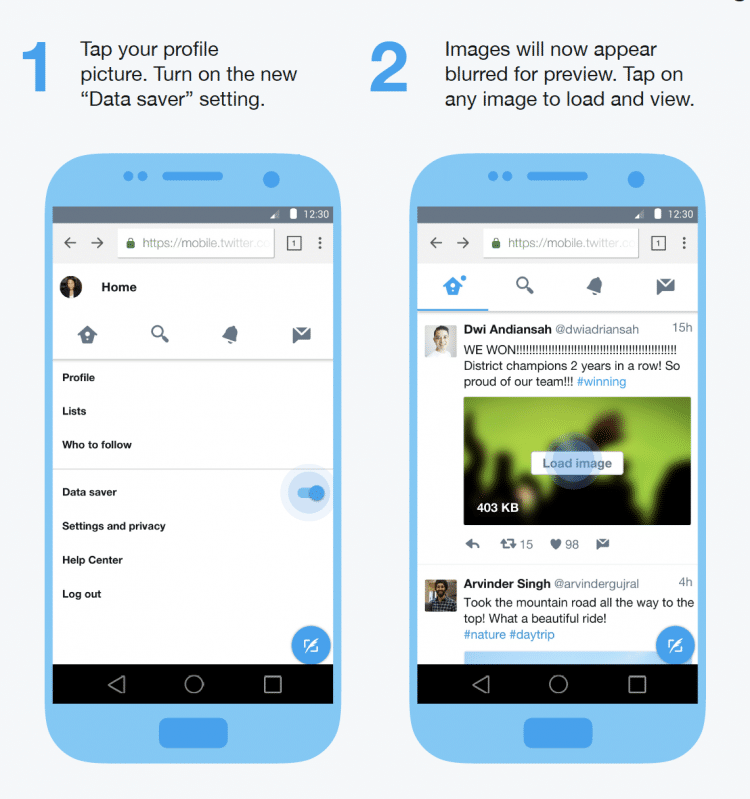 Twitter launches a Lite version for countries with slower Internet