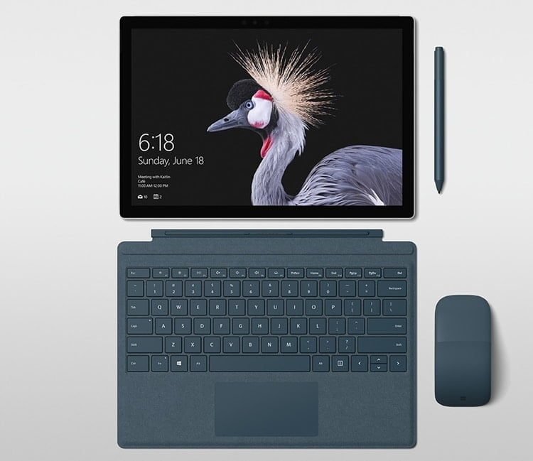 Microsoft announced Surface Pro 5