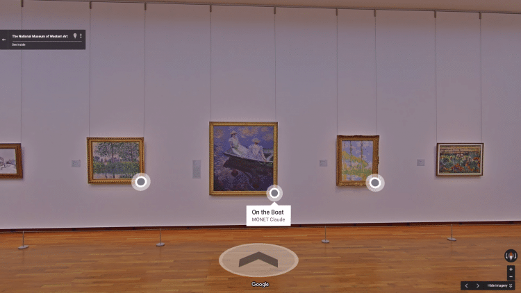 Google invades galleries and museums