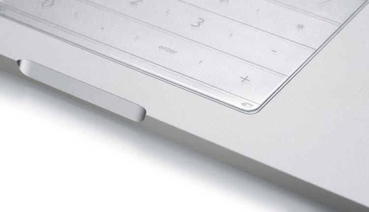 Nums expands functionality of a trackpad