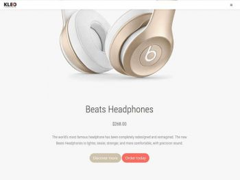 kleo_product_landing_page